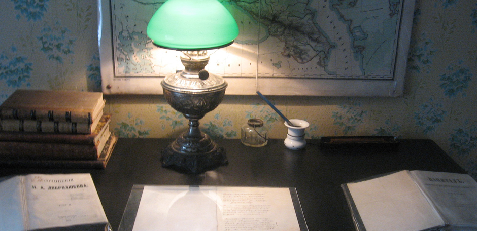 Рабочий стол Александра Ульянова