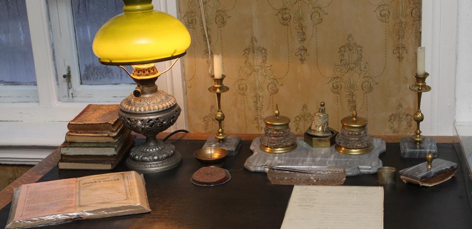 Рабочий стол Ильи Николаевича Ульянова